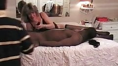 Cuckold Archive MILF with black bulls sissy husband watches