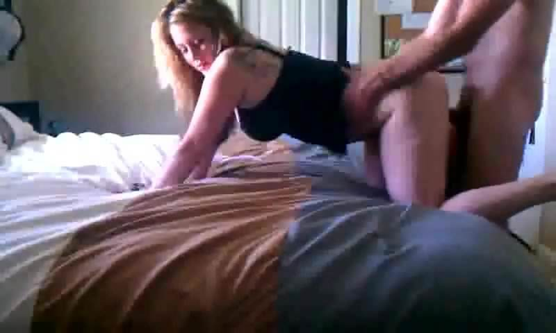 amateur woman bent over making the bed porn