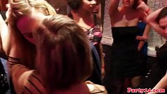 Real european newbie gets fingered in public