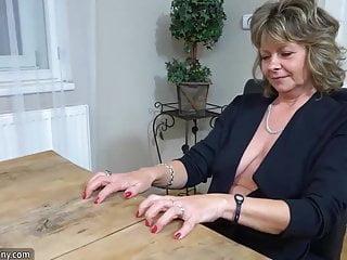 OldNanny Sexy girl masturbate horny granny