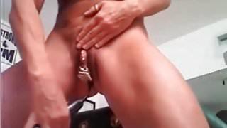 My Sexy Piercings Heavy pierced pussies sex play Body mod ho