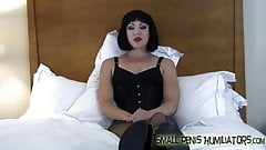 Your cock is so small it's kind of funny SPH
