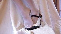 pantyhose foot fetich