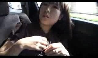 【爆乳】巨乳娘をナンパしたけどホテルまで我慢できなかったので車の中で揉みました