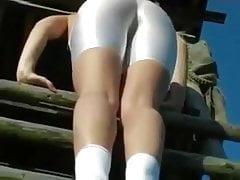 sexy ass in white spandex part 1 hd 790 pt justporn tv