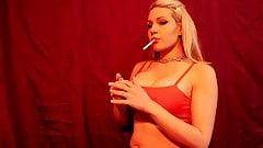 PREVIEW SMOKING FETISH CIGARETTE JESSIE LEE PIERCE BLONDE
