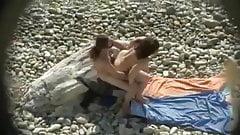 Voyeur sex on beach