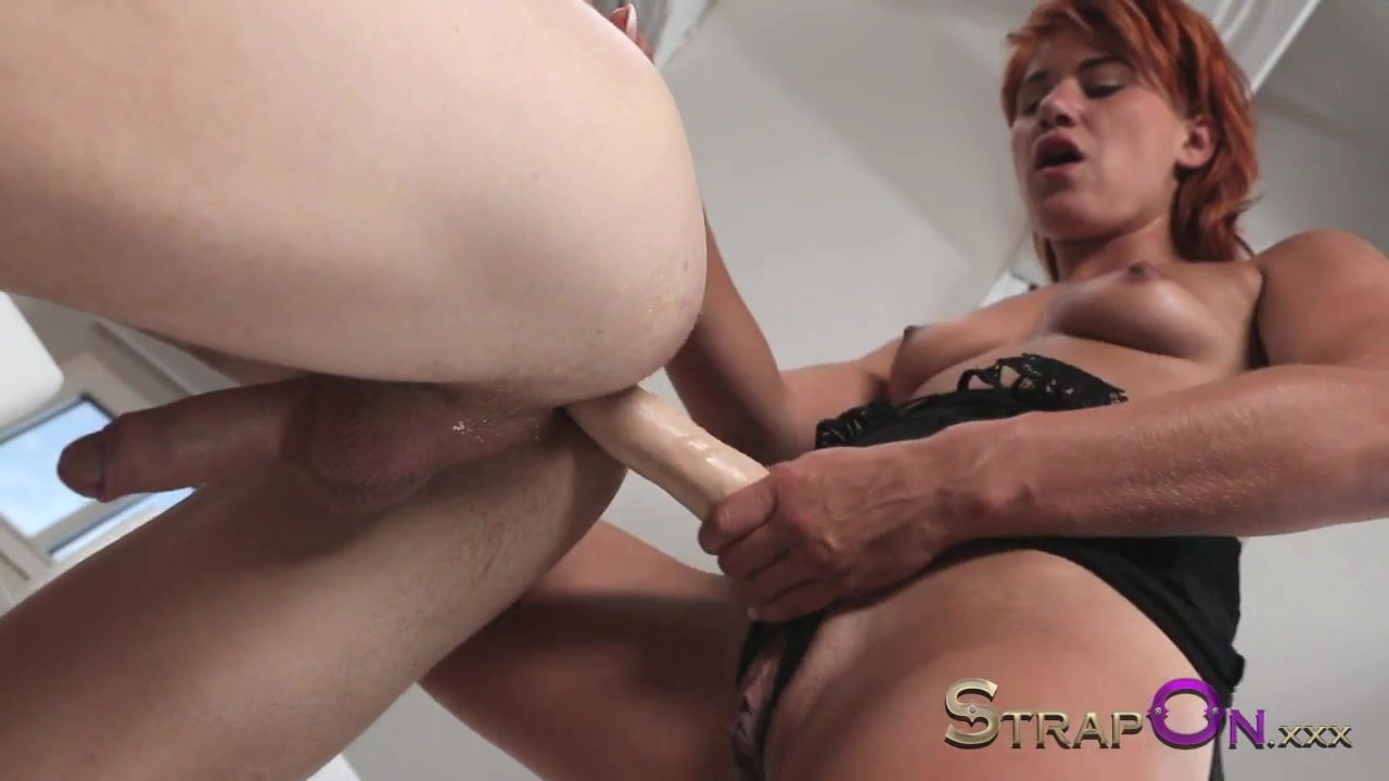 Strapon Pegging Video With A Redhead Sex Addict Hd Porn 4C-3401