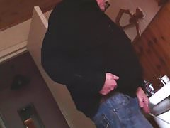 72 year old man caught pissing on hidden cam