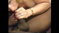 cuckold's wife gets 11 black inches head to balls