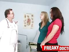 Gioia and her girlfriend treated by daddy doctor