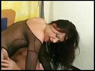 Mareen de vries aka christine anal fucking in fishnets - 3 9