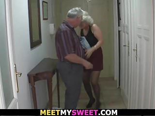 Preview 2 of Old couple have fun with son's gf