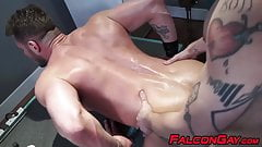 Student fucking slutty proffesors tight ass before rimmming