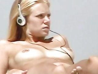 Nude Beach - Pierced Hot Blond Teen on Voyeur Camera