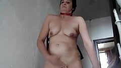 Ugly mature stairway rub