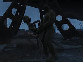 Preview 1 of Fallout 4 Katsu sex adventure chap.5 Supermutant