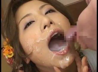 <ブッカケ動画>Marin