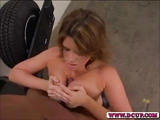 Hot MILF Lisa Sparx Spreads Her Pussy Wide For Dick