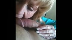 Hot Amateur Mature CFNM Handjob Cum Lick