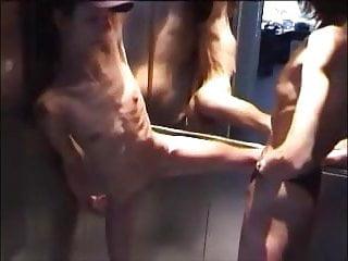 Lesbian flash longer - Super skinny lesbians showing themselves