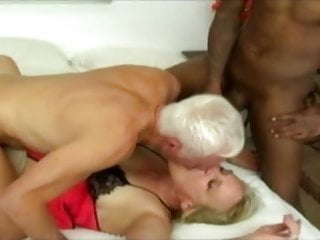 Preview 6 of old man a woman and young black guy