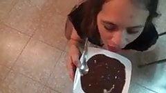 Chocolate with sperm chocolate com porra