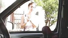 Car Masturbator Finds A Brave Girl BVR
