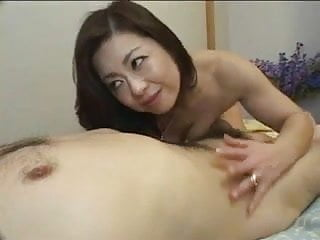Pretty Japanese Mature S Cunt Fucked Creampied