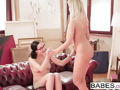 Babes - Step Mom Lessons - Diore and Summer and Nick Gill - 's Thumb