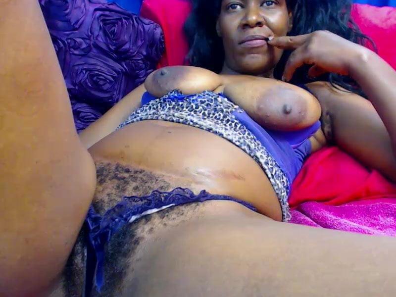 Sexy nakad woman ebony