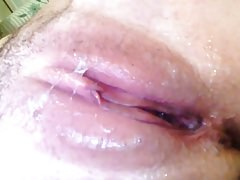 Short but Sweet 8: Pussy Covered in Sticky Cum Cream