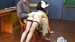 CMNF - 2 girls spanked, stripped and humiliated II