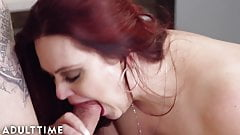 ADULT TIME BBW MILF Alexa Grey Makes Treats for Hung Stud
