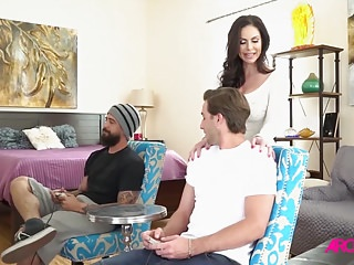 Adult games doggy style - Kendra lust enjoys video games and sex