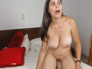 Colombian Babe With Huge Boobs Gets Fucked Hard