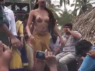 Nude Dance In Indian Village