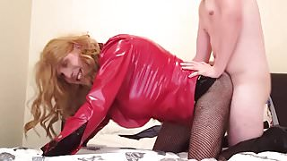 no69 Huge Cock Suleika Latex in Sex With A Teenager BAREBACK