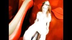 Ginger Spice Geri Halliwell boobs fap compilation
