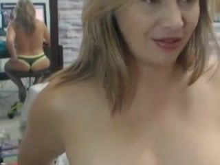 Sabrina has some hot lesbian fun