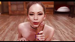 A.S. Petite Deepthroat Facefuck BJ
