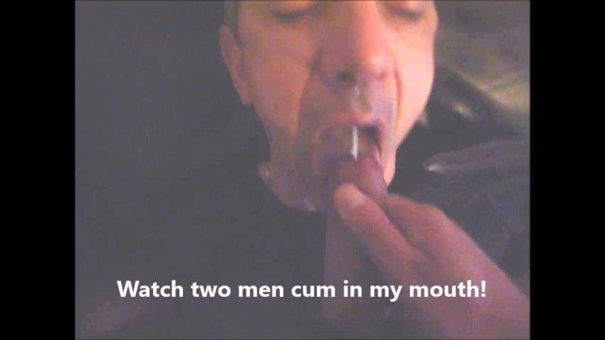 Men cum in men mouth