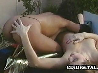Nina DePonca and Fallon - Retro Lesbian Porn
