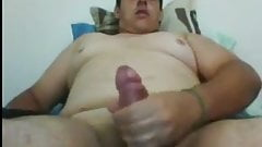 Hot chubby cumming
