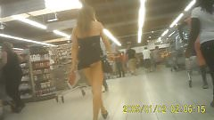 My best french teen ass upskirt exhibition in supermarket