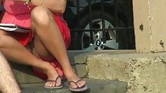 Upskirt Sheer Panties