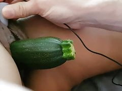 Zuccihini play with asian wife