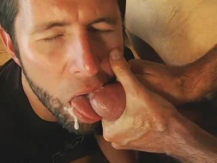 gay men fucking in a restaurant