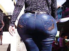StreetLatinASS: BBW tight jeans