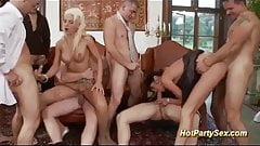 wild anal groupsex party orgy